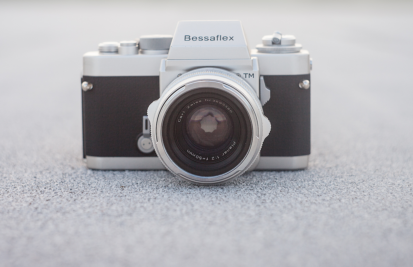 The Cosina Voigtlander Bessaflex TM in Silver