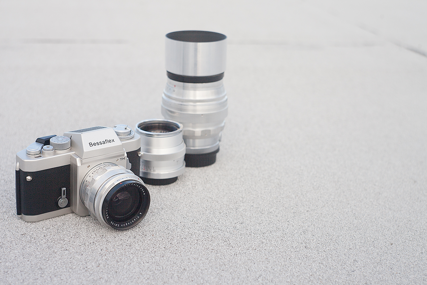 Bessaflex TM With M42 Lenses