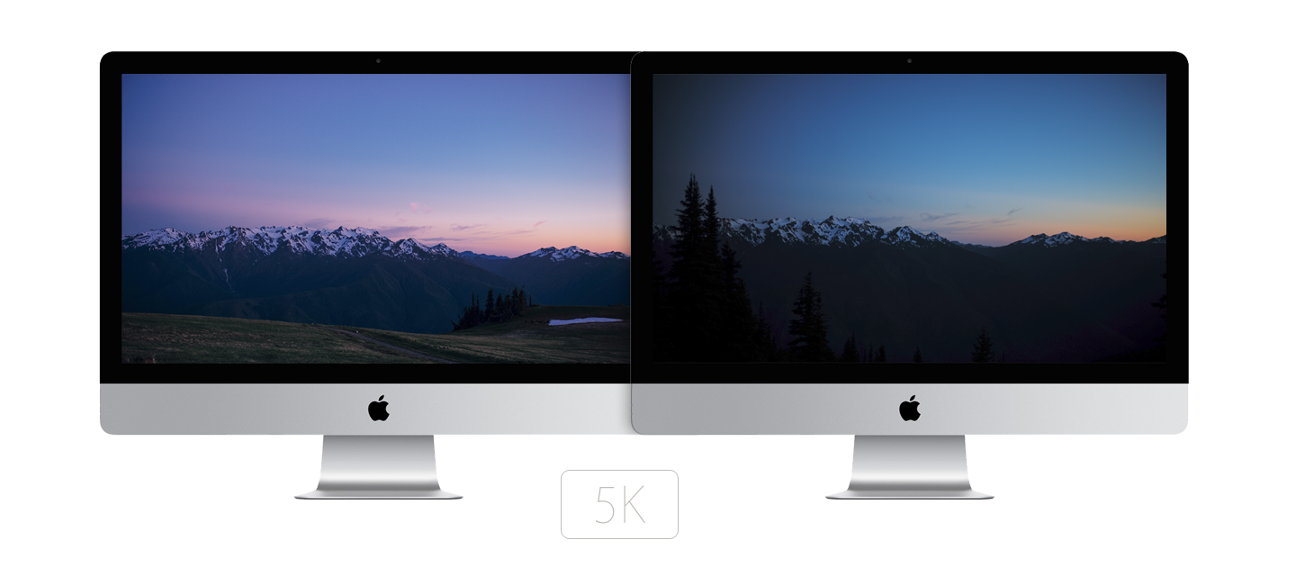 5K iMac wallpapers